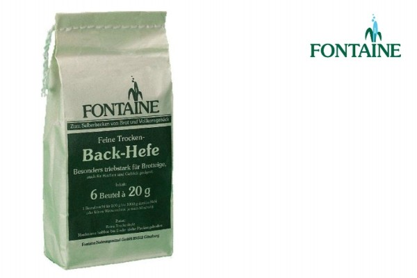 Fontaine Backhefe